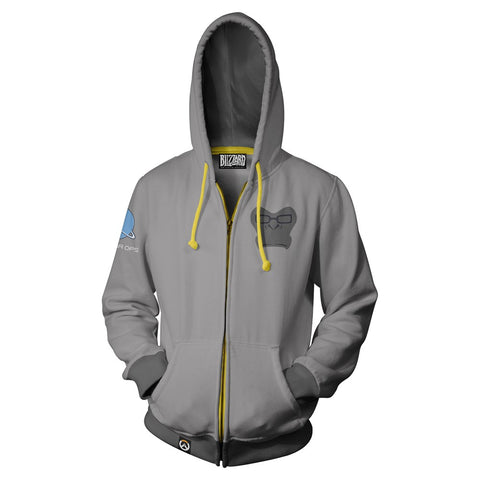 Overwatch Winston Zip-Up Hoodie