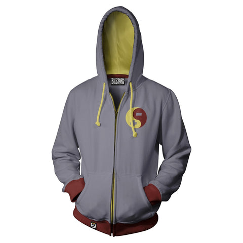 Overwatch Zenyatta Zip-Up Hoodie