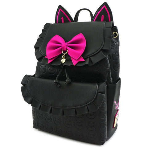Loungefly x Overwatch Black Cat D.Va Mini Backpack