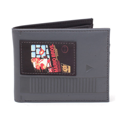 Nintendo Super Mario Bros NES Cartridge Wallet