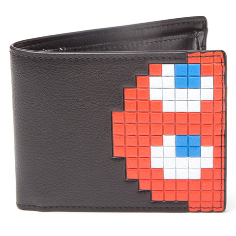 Pac-Man Blinky Ghost Bi-Fold Wallet