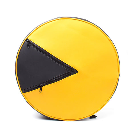 Pac-Man Shaped Backpack
