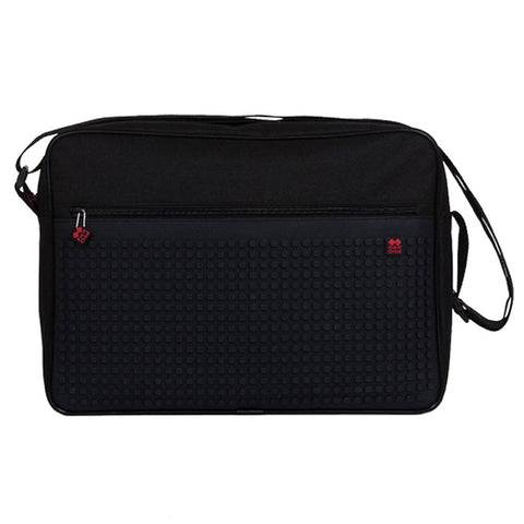 Customisable Pixel Shoulder Bag - Black