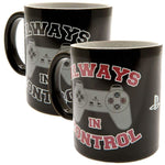 Playstation Always In Control Heat Changing Mug