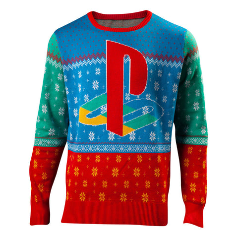 Sony Playstation Tokyo '94 Knitted Christmas Sweater/Jumper