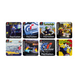 Playstation Game Coasters Set of 8