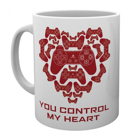 Playstation You Control My Heart Mug