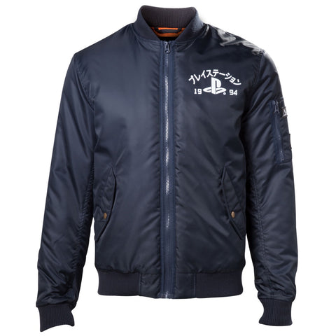 Playstation '94 Blue Bomber Jacket