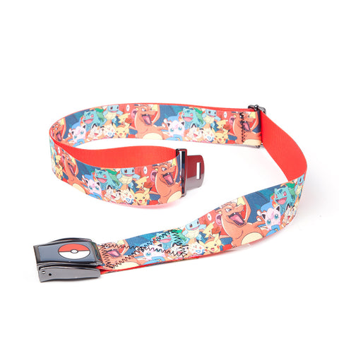 Pokemon All Over Print Character Airplane Belt