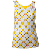 Pokemon Pikachu All Over Print Ladies Vest Top