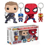 Captain America: Civil War Spider-Man Funko Pop! Vinyl 4 Pack