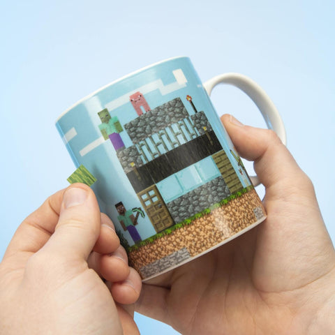 Minecraft Build A Level Mug