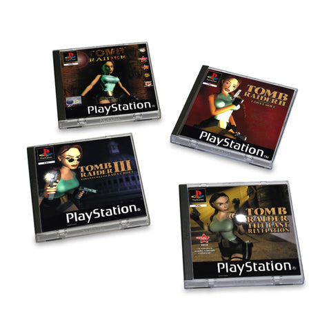 Sony Playstation Classics: Tomb Raider Coasters (4 Pack)