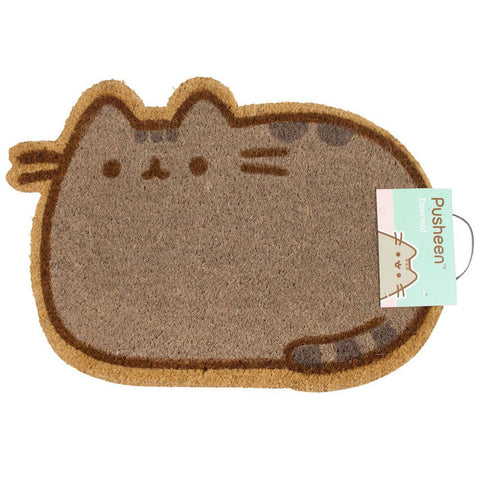 Pusheen Shaped Coir Doormat
