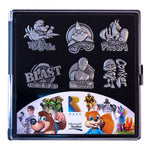 Rare: Heritage Limited Edition Collectors Pin Badge Set