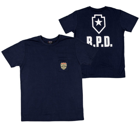 Resident Evil 2 RPD Pocket T-Shirt