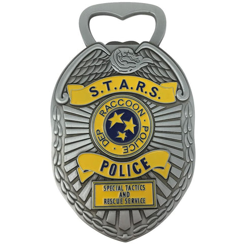 Resident Evil S.T.A.R.S. Badge Magnetic Bottle Opener