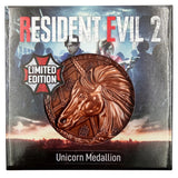 Resident Evil 2 Limited Edition Replica Medallion - Unicorn