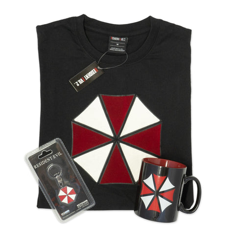 Resident Evil Umbrella Corp Gift Set