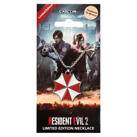 Resident Evil 2 Limited Edition Umbrella Necklace