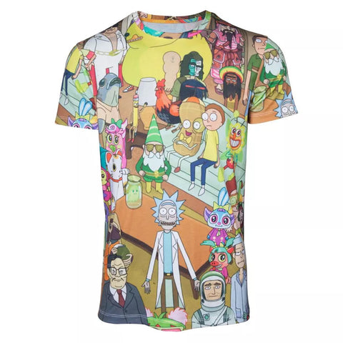 Rick and Morty Characters T-Shirt