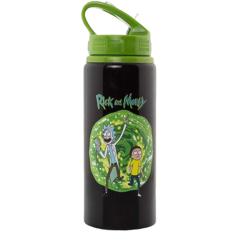 Rick and Morty Aluminium Drinks Bottle