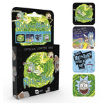 Rick and Morty Coasters (4 Pack)