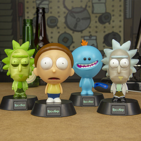 Rick and Morty Collectable Icon Lights