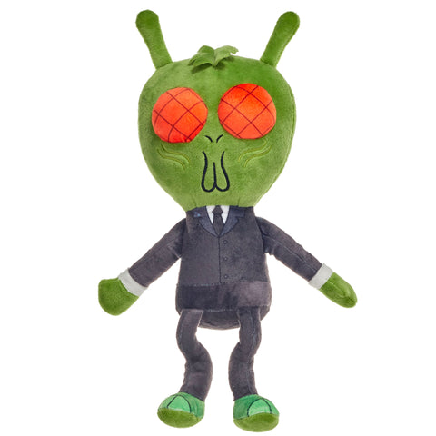 "Rick and Morty Cornvelious Daniel 10"" Plush Toy"