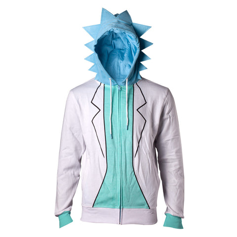 Rick and Morty - Rick Sanchez Costume Hoodie