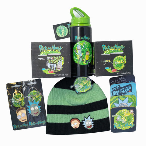 Official Rick and Morty Deluxe Gift Bundle