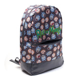 Rick and Morty Face Print Backpack