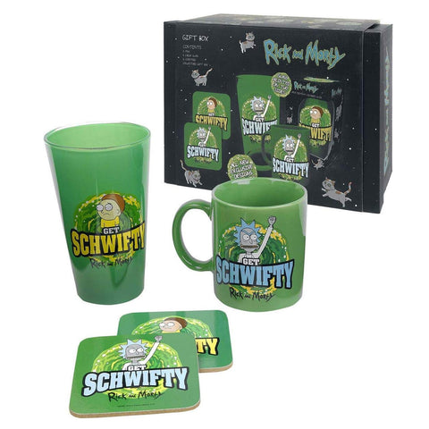 Rick and Morty Get Schwifty Gift Set