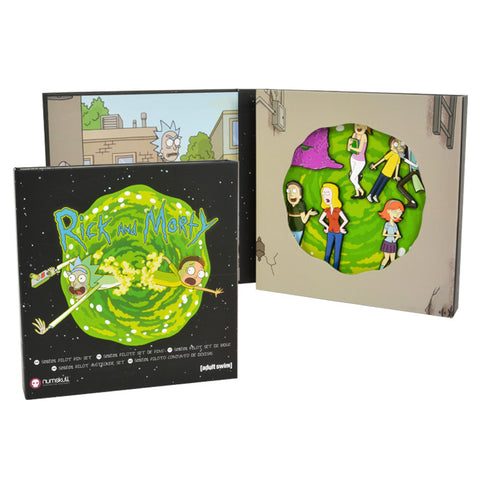 Rick and Morty S01E01 Pin Badge Set