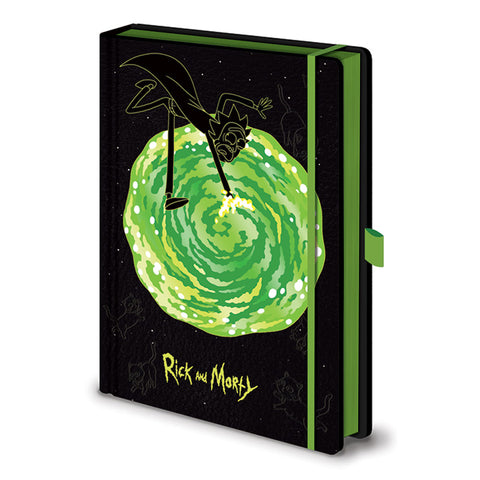 Rick and Morty Portal A5 Notebook