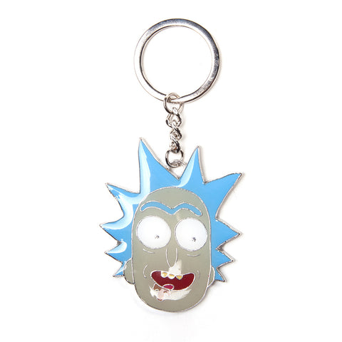 Rick and Morty Rick Sanchez Metal Key Chain