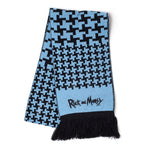 Rick and Morty Bobble Hat and Scarf Set