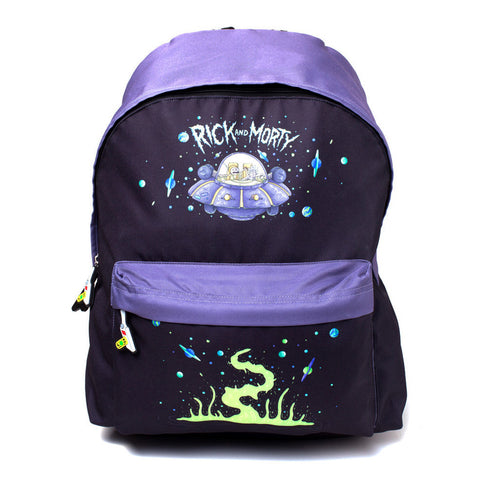 Rick and Morty Space Cruiser Backpack