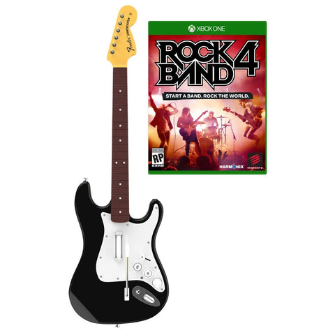 Rock Band 4 Guitar and Game Bundle - Xbox One