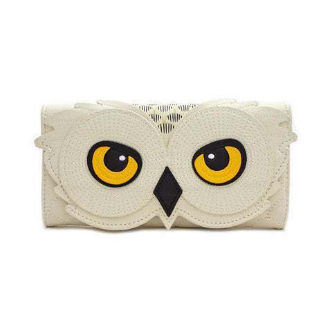 Loungefly x Harry Potter Hedwig Owl Trifold Purse