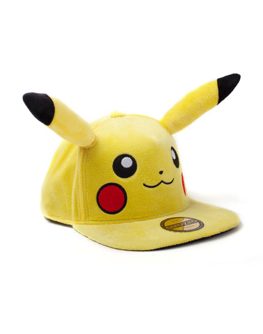 Pokemon Pikachu Plush Snapback