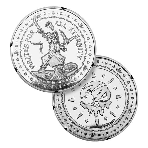 Sea of Thieves Limited Edition Collectors Coin - Silver