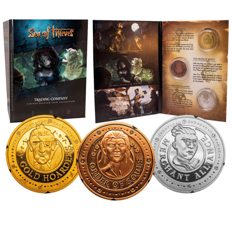 Sea of Thieves Triples Collectors Coin Pack - Gold, Silver, Bronze