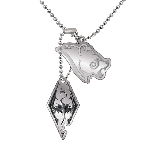 The Elder Scrolls Skyrim Seal of Akatosh Pendant