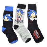 Sonic The Hedgehog Socks with Presentation Gift Tin (3 pairs)