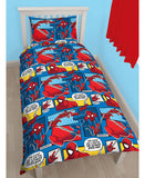 Spider-Man Webhead Reversible Single Duvet Cover Bedding Set