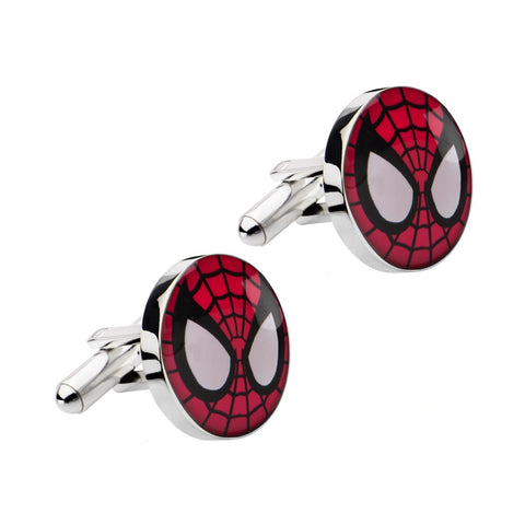 Marvel Spider-Man Stainless Steel Cufflinks