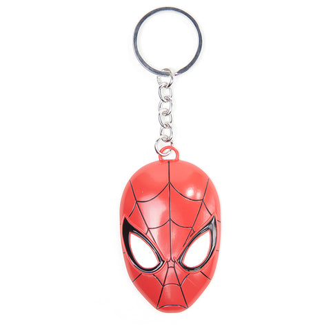 Marvel Spider-Man 3D Metal Mask Key Chain