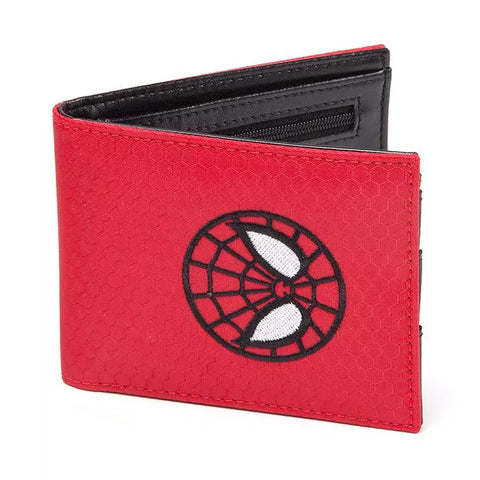 Spider-Man Red Embroidered Wallet