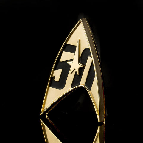Star Trek 50th Anniversary Communicator Badge